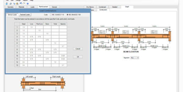 Beam Splice Design Spreadsheet Throughout Concrete Column, Beam  Wall Design Software  Asdip Concrete