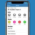 Beer Brewing Excel Spreadsheet In Brew Cloud App Keeps Your Beer Recipes Handy  The Spoon