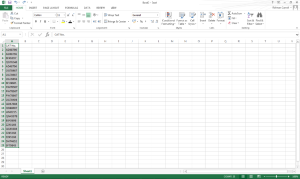 Bespoke Excel Spreadsheet With How To Remove Duplicates From Your Spreadsheets  Bespoke Excel