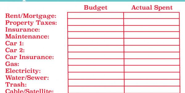 Best Budget Spreadsheet With Best Personal Budget Spreadsheet  Aljererlotgd