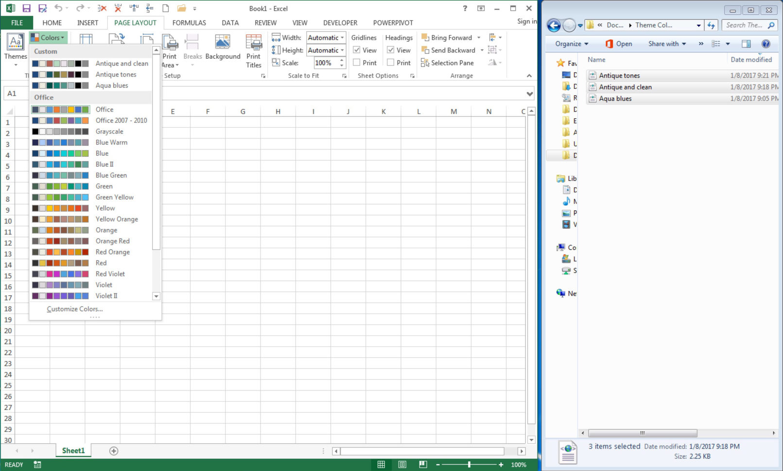 Best Computer For Large Excel Spreadsheets 2017 Pertaining To 150  Color Palettes For Excel  Policy Viz