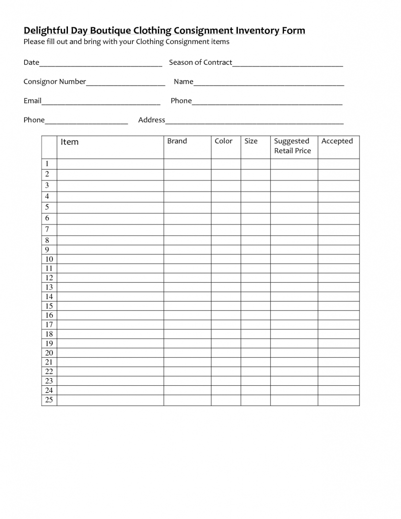 Best Inventory Spreadsheet In Clothing Inventory Spreadsheet Best Photos Of Template Invoice Excel