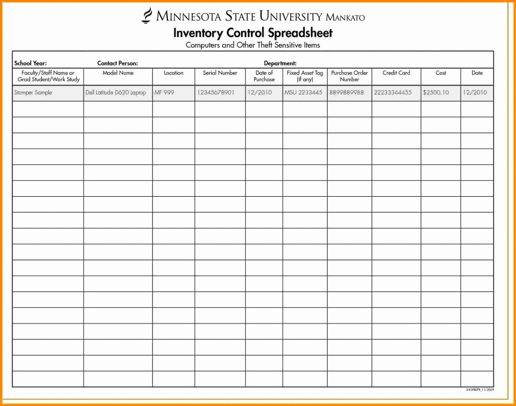 Best Inventory Spreadsheet Intended For Makeup Inventory Spreadsheet Beautiful Elegant 50 Best Sample