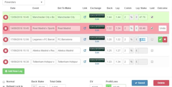 Best Matched Betting Spreadsheet With Acca Catcher Software For Matched Betting  Profit Accumulator