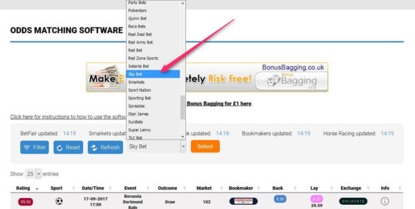 Best Matched Betting Spreadsheet Within Online Bookies – 5 Types Of Best Betting Signup Offers For Matched