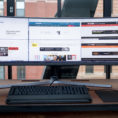 Best Monitor For Spreadsheets Intended For Samsung Chg90 Qled Gaming Monitor Review  Techradar