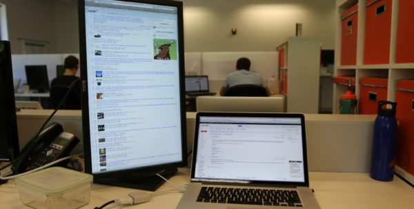 Best Monitor For Spreadsheets Regarding I Told My Boss I Needed A Vertical Monitor For Excel Spreadsheets
