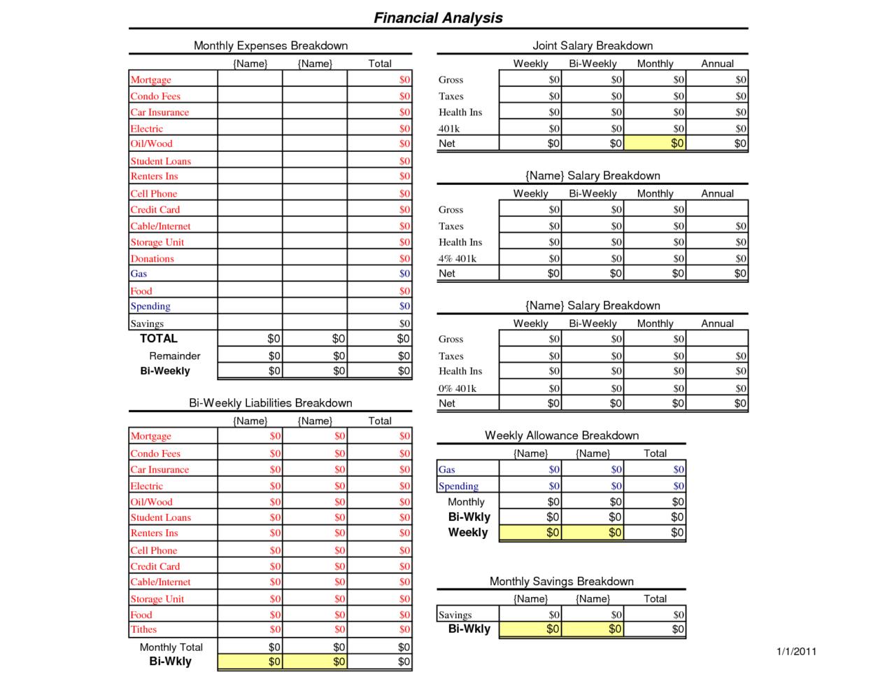 Best Personal Budget Spreadsheet With Regard To Example Of Best Home Budget Spreadsheet Personal Household Worksheet