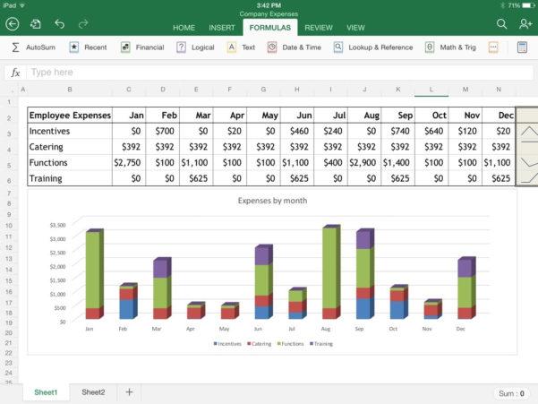 Best Spreadsheet App For Excel For Ipad: The Macworld Review  Macworld