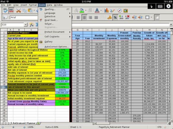 Best Spreadsheet App Regarding Best Spreadsheet App For Ipad  Pulpedagogen Spreadsheet Template Docs