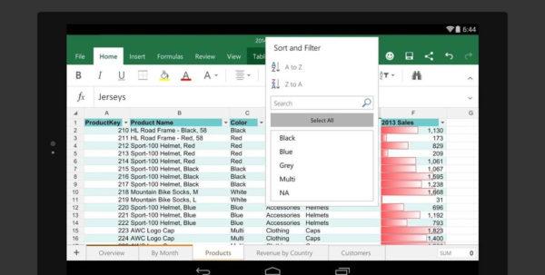 Best Tablet For Spreadsheets Inside Best Tablet For Excel Spreadsheets And Using Excel On A Tablet