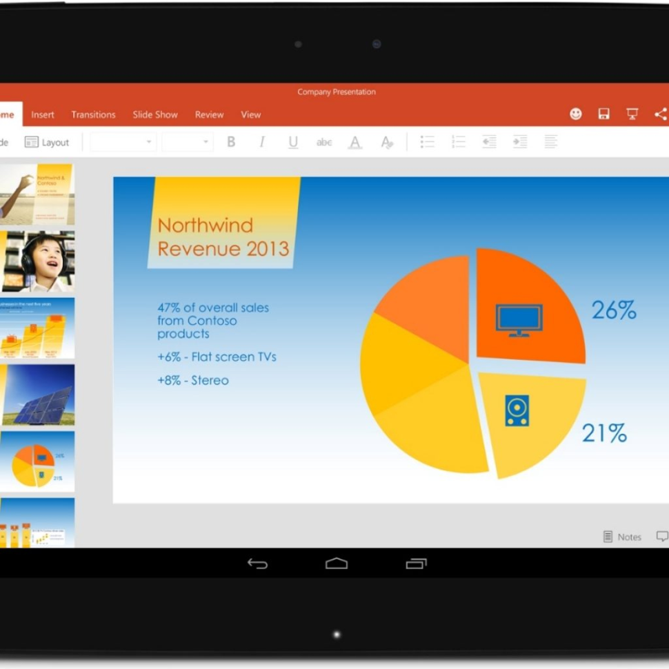 Best Tablet For Spreadsheets Inside The Office You Love Is Now On Your Android Tablet  Office Blogs In