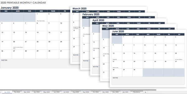 Best Way To Share Excel Spreadsheet Online Pertaining To Make A 2018 Calendar In Excel Includes Free Template