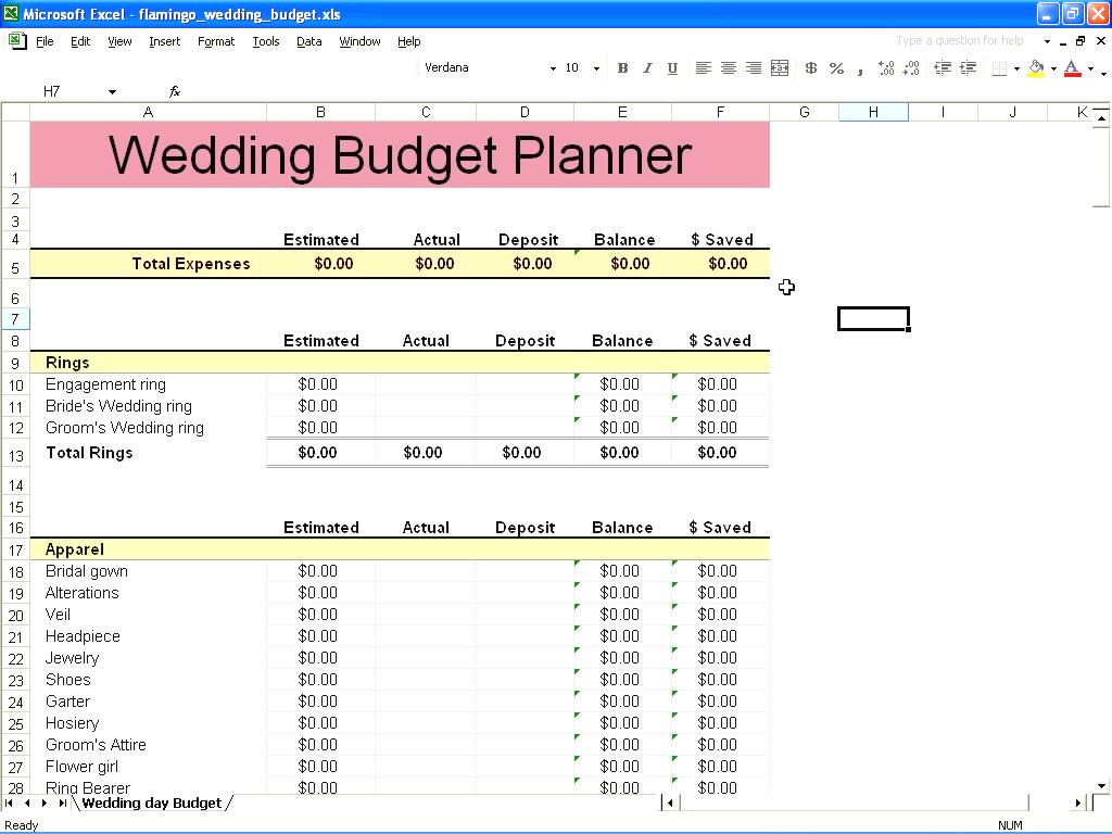 Best Wedding Budget Spreadsheet Intended For Best Wedding Budget Spreadsheet 2  Discover China Townsf