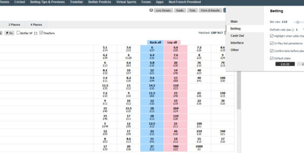 Betfair Spreadsheet Free For How To Bet On Betfair Exchange – Betting Tools