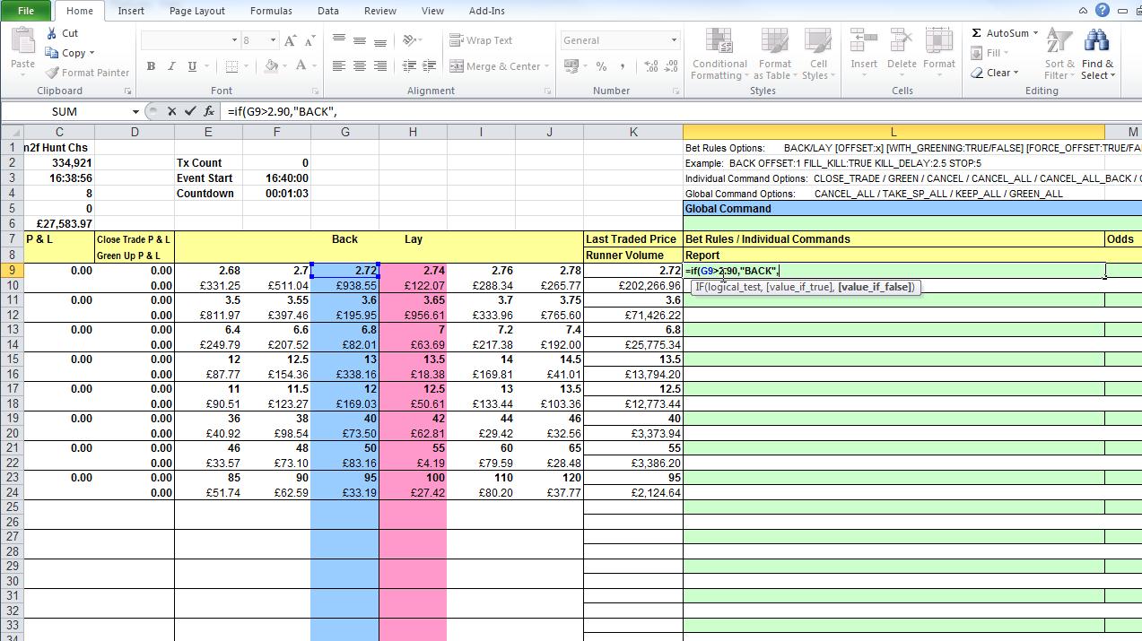 Betfair Spreadsheet Free Intended For Bet Angel Pro  Betfair App Directory  Better Exchange Betting