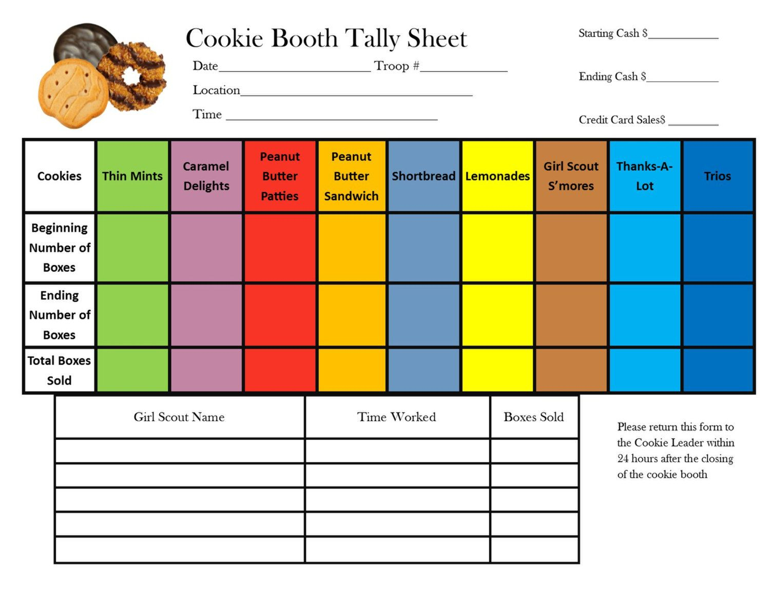 Better Spreadsheet With Sheet Girl Scout Cookie Sales Tracking Spreadsheet Looking For