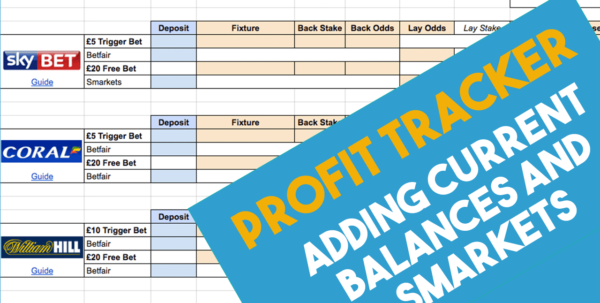 Betting Record Spreadsheet With Super Simple Matched Betting Spreadsheet 2019 Team Profit
