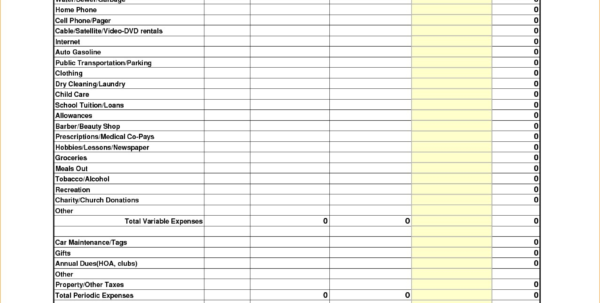 Bi Weekly Budget Spreadsheet Regarding Printable Bi Weekly Budget Worksheet Photos Highest Clarity Get Paid