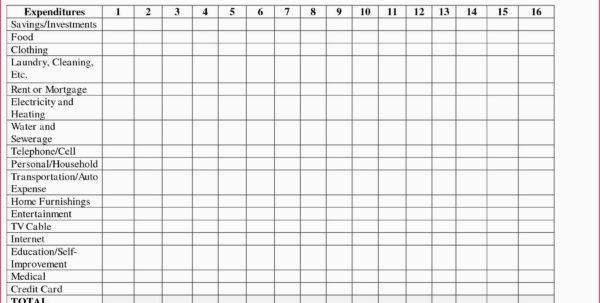 Bi Weekly Budget Spreadsheet With Regard To Bi Weekly Monthly Budget Spreadsheet Weekly Home Budget Worksheet