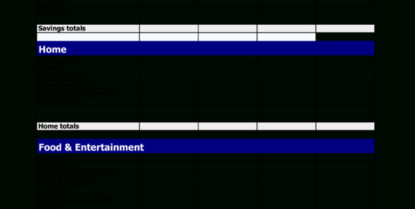 Bi Weekly Expenses Spreadsheet Inside Gratis Printable Bi Weekly Budget