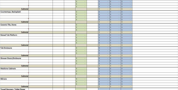Bid Comparison Spreadsheet Intended For Construction Bid Comparison Spreadsheet Great Google Spreadsheet