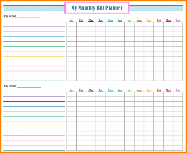 Bill Budget Spreadsheet Intended For 009 Excel Monthly Bill Template Sheet Budget Spreadsheet Reddit
