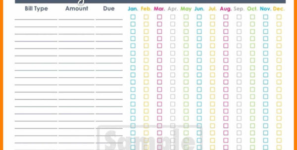 Bill Pay Organizer Spreadsheet Inside 10  Bill Pay Organizer Spreadsheet  Credit Spreadsheet