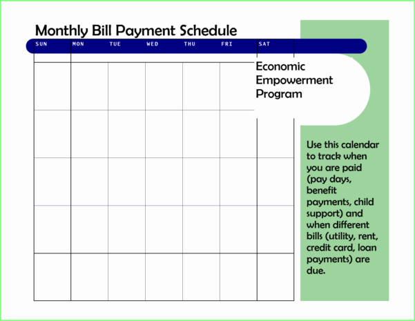 Bill Pay Schedule Spreadsheet Regarding Bill Pay Organizer Spreadsheet Unique Template Payment Schedule Paid
