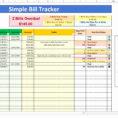 Bill Pay Spreadsheet With Bill Pay Spreadsheet Excel  Aljererlotgd