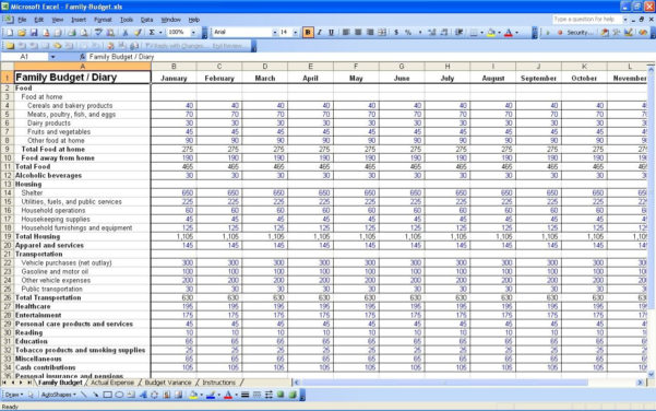 Bill Spreadsheet Example Pertaining To Bills Spreadsheet Template Budget Nz Expense Report Free Income