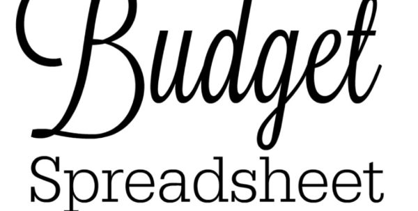 Bill Spreadsheet Intended For Free Budget Spreadsheet And How To Keep Track Of Passwords  The