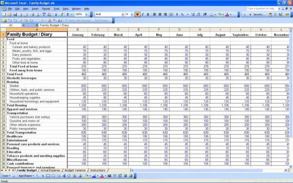 Bill Spreadsheet Template Free Within Bills Spreadsheet Template Budget Planner Worksheet Monthly Free