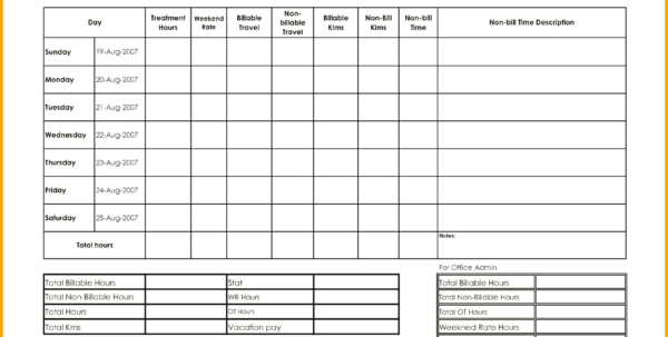 Billable Hours Spreadsheet Template In Billable Hours Spreadsheet Template Bill Of Sale Maggi Locustdesign