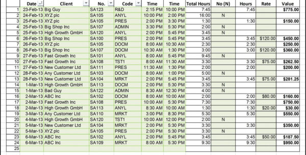 Billable Hours Spreadsheet With Regard To Timesheet Spreadsheet Formula Beautiful Spreadsheet For Mac