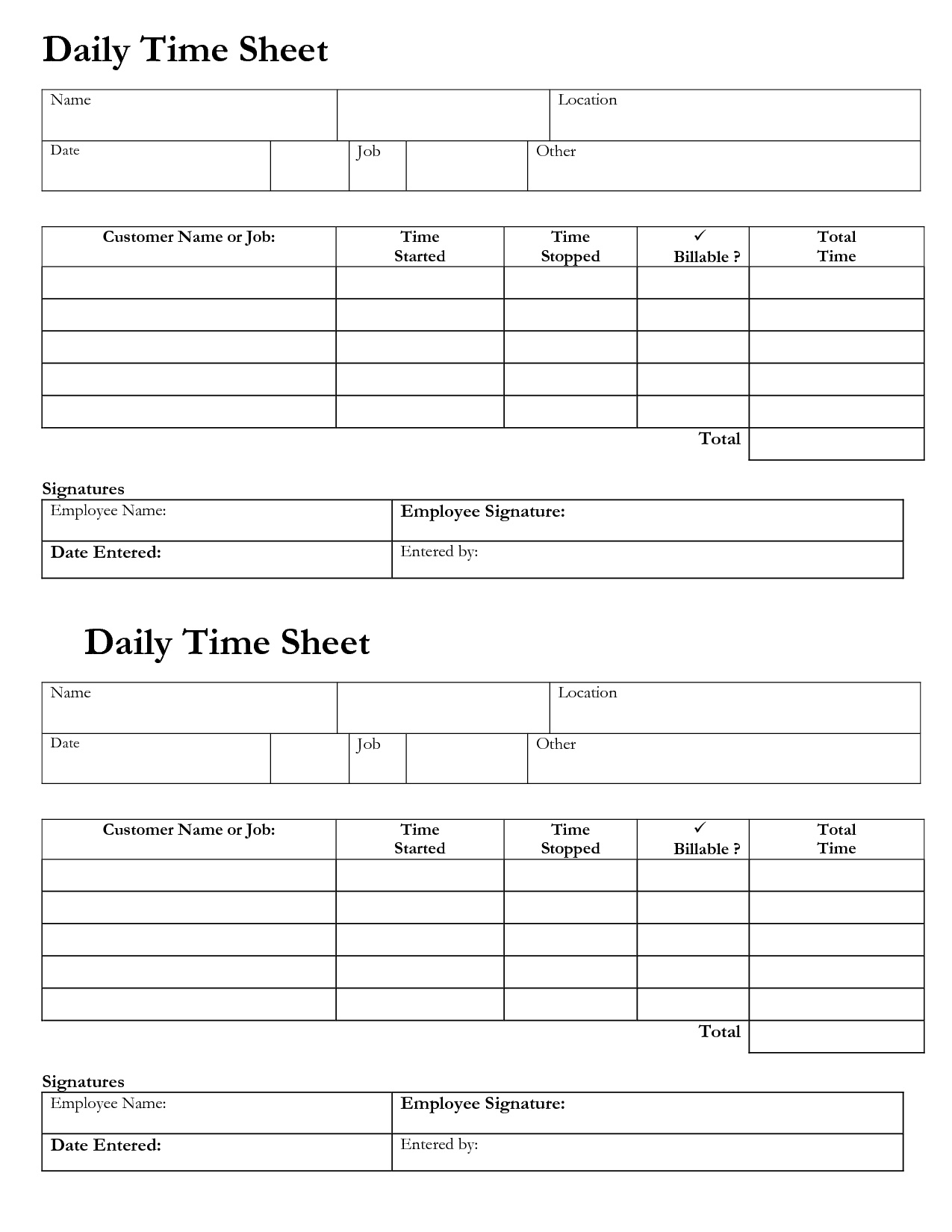 Billable Time Tracking Spreadsheet Intended For Daily Time Tracking Spreadsheet – Spreadsheet Collections