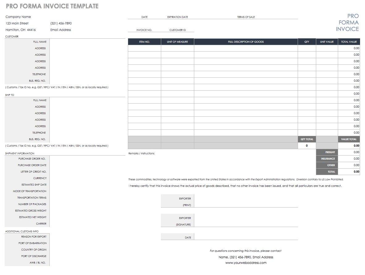 Billing Spreadsheet Inside Free Excel Invoice Templates  Smartsheet
