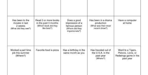 Bingo Spreadsheet Template With Regard To Bingo Spreadsheet  My Spreadsheet Templates