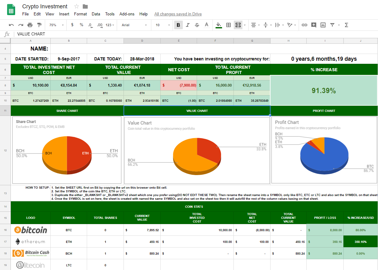 Bitcoin Trading Spreadsheet Pertaining To Facebook Cryptocurrency Groups Google Sheets Spreadsheet For