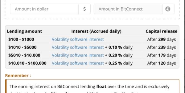 Bitconnect Compound Interest Spreadsheet In Bitconnect How It Works Not A Ponzi Scheme Crypto Adamcrypto Adam