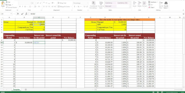 Bitconnect Compound Interest Spreadsheet Inside Compound Interest Calculator Excel Sheet Free Download Spreadsheet