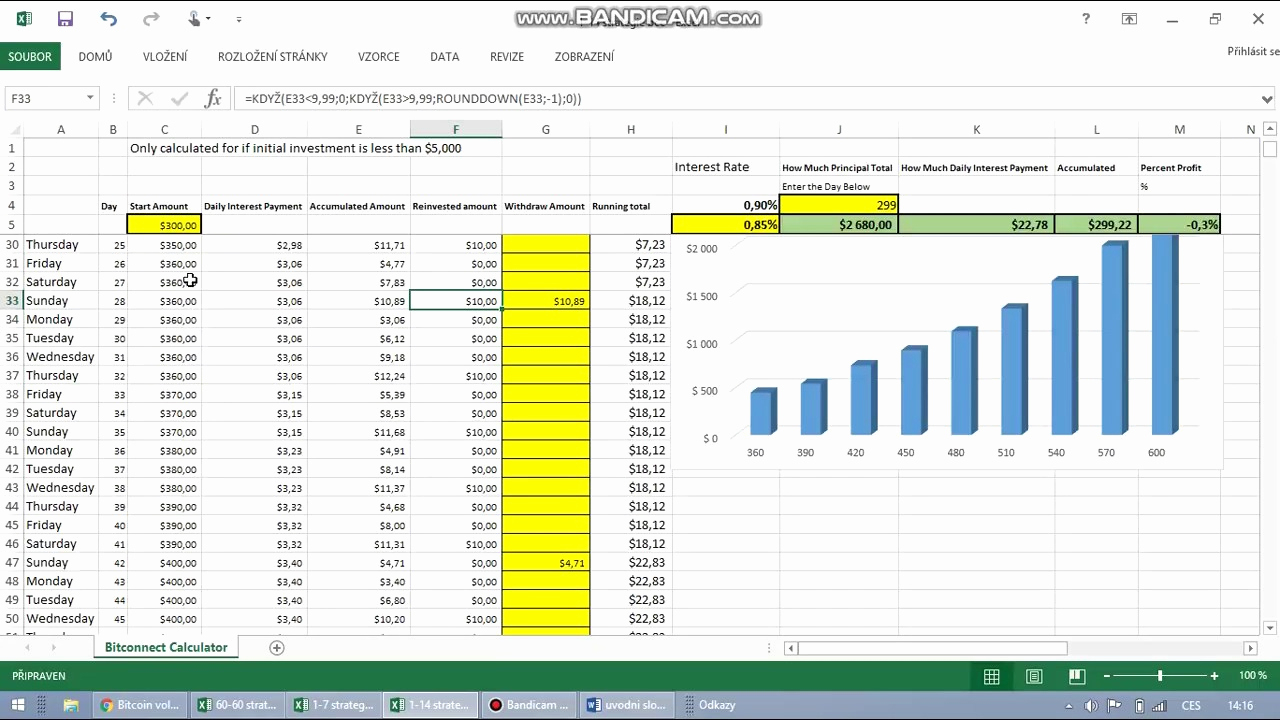 Bitconnect Compounding Spreadsheet Within Bitconnect Compounding Spreadsheetwnload Compound Interest Rul On
