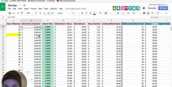 Bitconnect Excel Spreadsheet Intended For Compound Interest Spreadsheet Numbers Daily Excel Worksheet Download