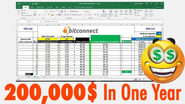 Bitconnect Spreadsheet Excel Intended For Bitconnect Excel Spreadsheetwnload Compounding Interest Compound