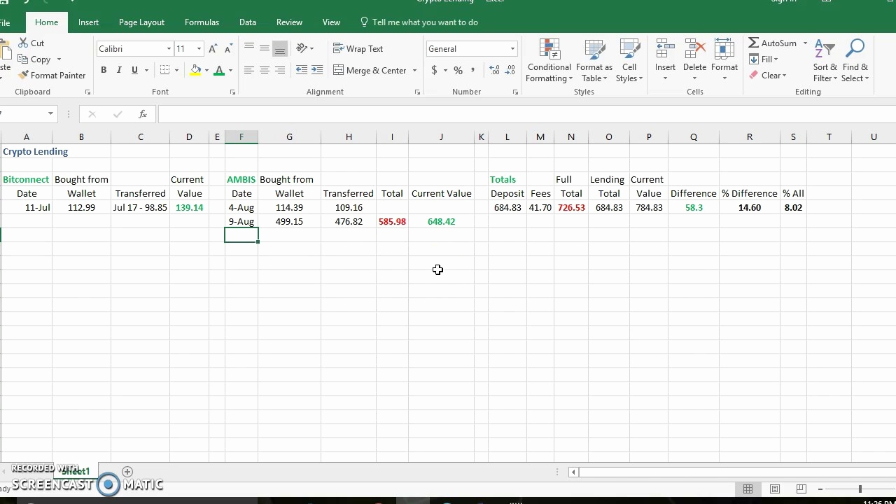 Bitconnect Spreadsheet Excel Throughout Compound Interest Calculator Excel Sheet Free Download Spreadsheet