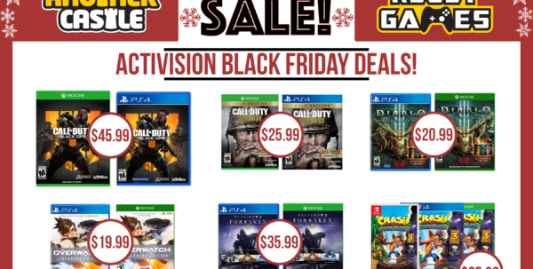 Black Friday Deals Spreadsheet Throughout Black Friday Is Here!  Another Castle Video Games