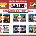 Black Friday Spreadsheet Regarding Black Friday Is Here!  Another Castle Video Games