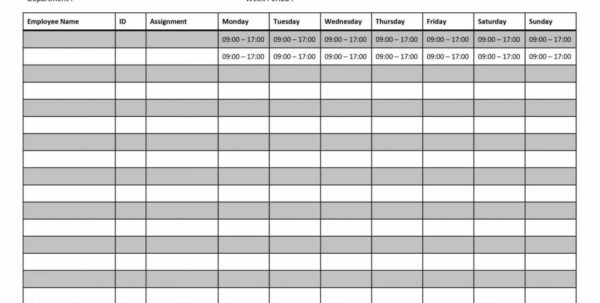 Black Friday Spreadsheet With Scheduling Spreadsheet Project Templates Employee Production