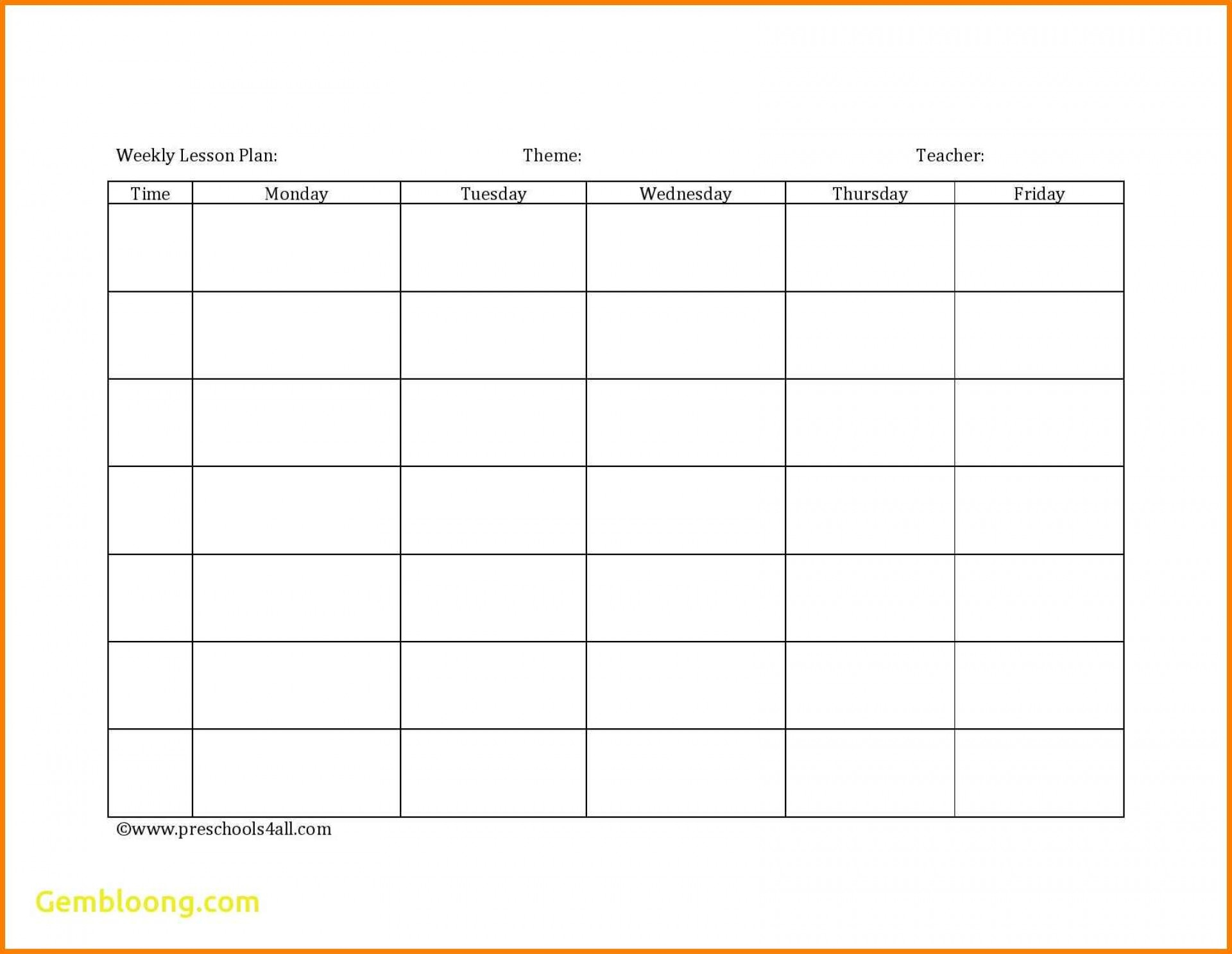 Blank Spreadsheet For Teachers Within 009 Blank Lesson Plan Templates Template Impressive Nz Free Download