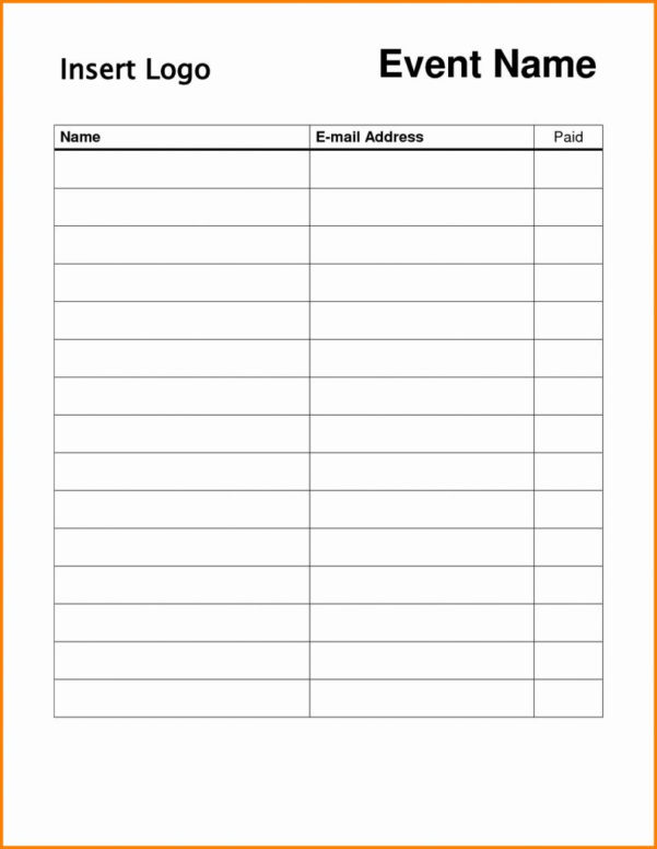 Blank Spreadsheet Free Inside Blank Spreadsheet To Print Free Roster Template For Teachers